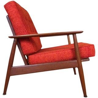 Danish Modern Teak Lounge Chair, Circa 1950s by Moreddi For Sale