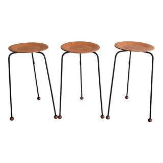 "Tony Paul for Woodlin-Hall ""Tempo"" Occasional Side Tables - Set of 3 For Sale"