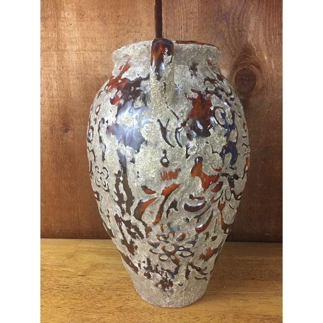 Boho Raised Glaze Vase - Image 5 of 9