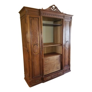 Customized French Armoire For Sale