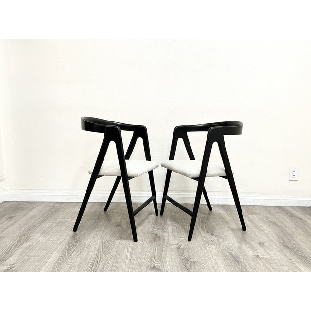 Mid Century Modern Italian Dining Chairs For Sale - Image 9 of 13