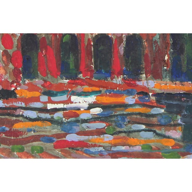 """1971 """"The Colosseum, Rome"""" Oil on Canvas - Image 2 of 2"""