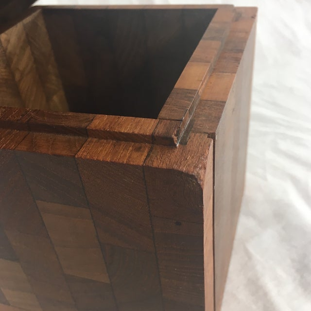 Dunhill Vintage British Crown Colony Teak Humidor Box For Sale In Phoenix - Image 6 of 8