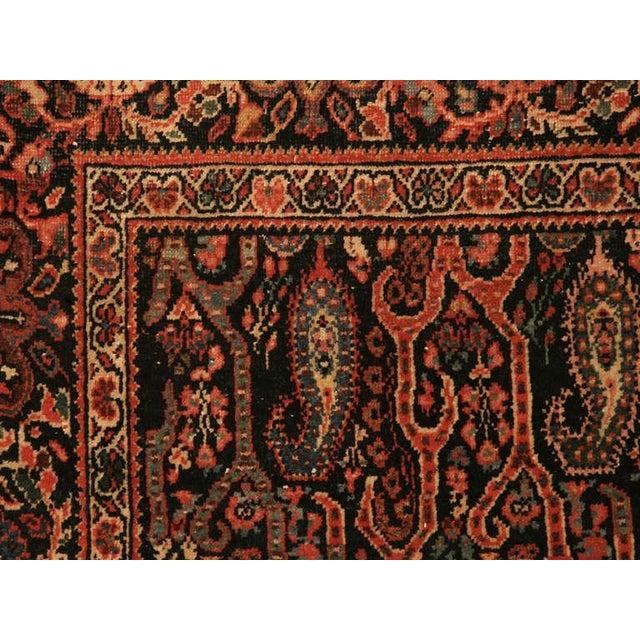 Antique Persian Bidjar Rug - 4′ × 6′4″ For Sale - Image 4 of 10