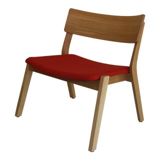 Modern Verywood Frame Lounge Chair For Sale