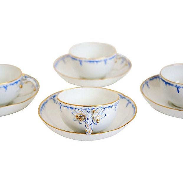 Royal Berlin Cups & Saucers- Set of 4 - Image 7 of 7