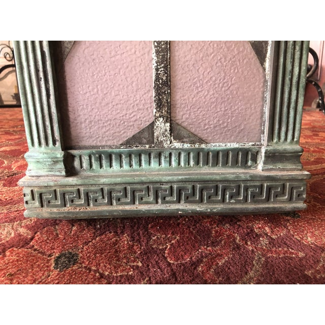 1910s Neoclassical Copper Lantern For Sale - Image 4 of 13