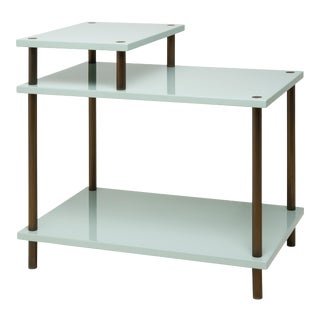 Addison Bedside Table in Sage Green - Veere Grenney for The Lacquer Company For Sale
