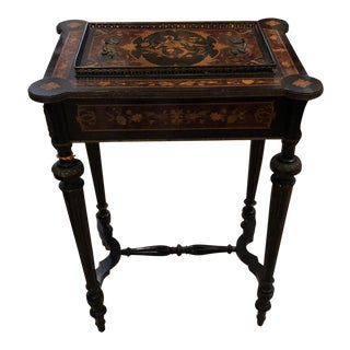 Antique Napoleon III Rococo Jardiniere Table C.1870 For Sale