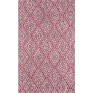 "Madcap Cottage Lake Palace Rajastan Weekend Pink Indoor/Outdoor Area Rug 6'7"" X 9'6"""