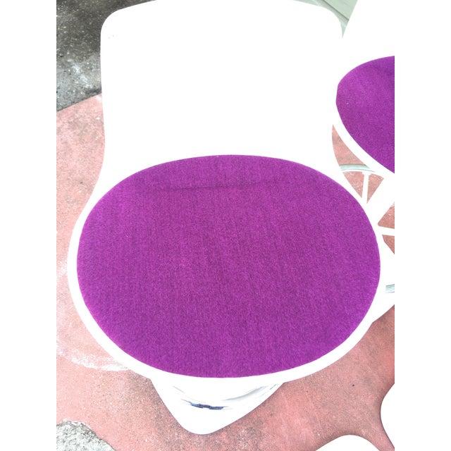 Fabric Enea Lottus Post Bar Stools For Sale - Image 7 of 11