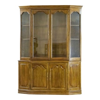Davis Cabinet Company Buffet Cabinet in Calais Cherry For Sale