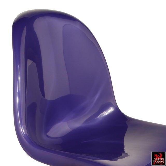 Plastic Purple Verner Panton S-Chair Fehlbaum Production For Sale - Image 7 of 11