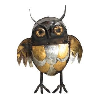 Mid-Century Brutalist Owl For Sale