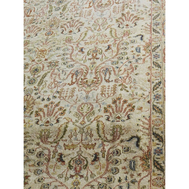 2010s Indian Hand-Knotted Rug - 6' x 9' For Sale - Image 5 of 10