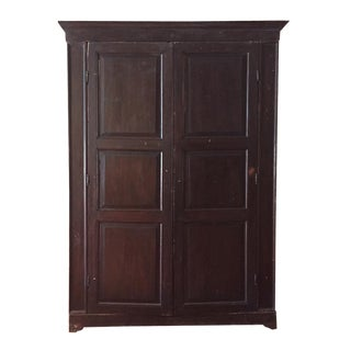 10' Antique Italian Armoire For Sale