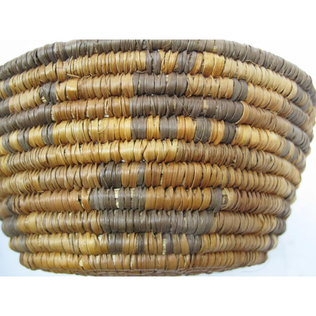 20th Century Native American Zoomorphic Basket For Sale - Image 4 of 5