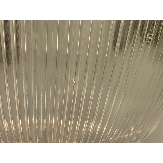 Art Deco 1910s Holophane Semi Flush Light For Sale - Image 3 of 8