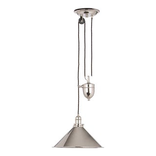 Provence Rise & Fall Pendant in Polished Nickel