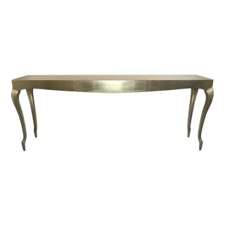 Caracole Gold-Y Console Table For Sale