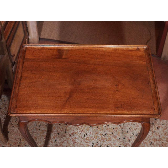 Late 19th Century French Petite Side Table For Sale - Image 4 of 5