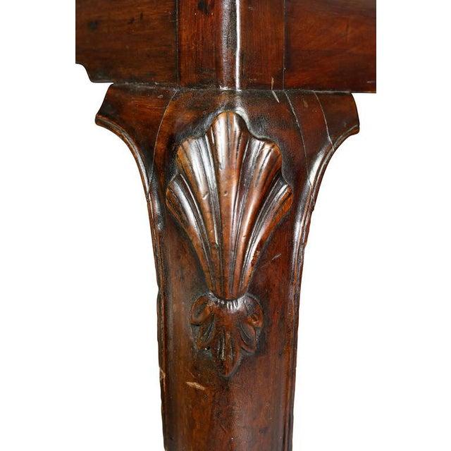 Irish Georgian Mahogany Console Table For Sale - Image 4 of 10