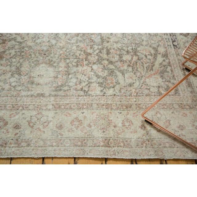 "Vintage Distressed Sivas Carpet - 7'2"" x 10'7"" For Sale - Image 4 of 9"