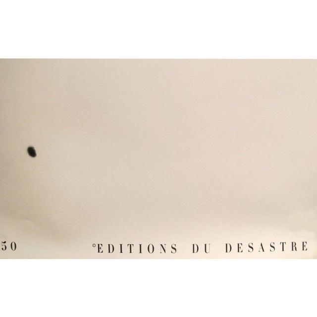 1980s Erwin Blumenfeld Exhibition Poster, Doe Eye (Oeil De Biche) For Sale - Image 4 of 5