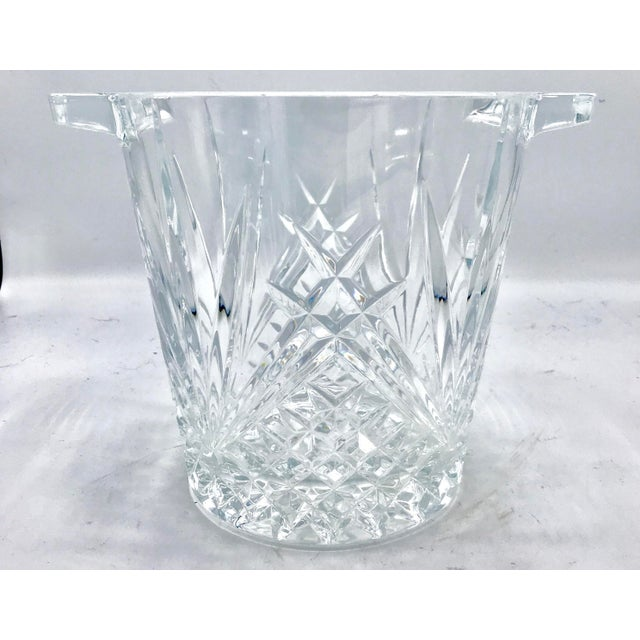 Mid-Century Cut Lead Crystal Ice Bucket / Champagne Cooler - Image 2 of 5