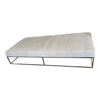 Mid Century Chrome Day Bed/Bench For Sale