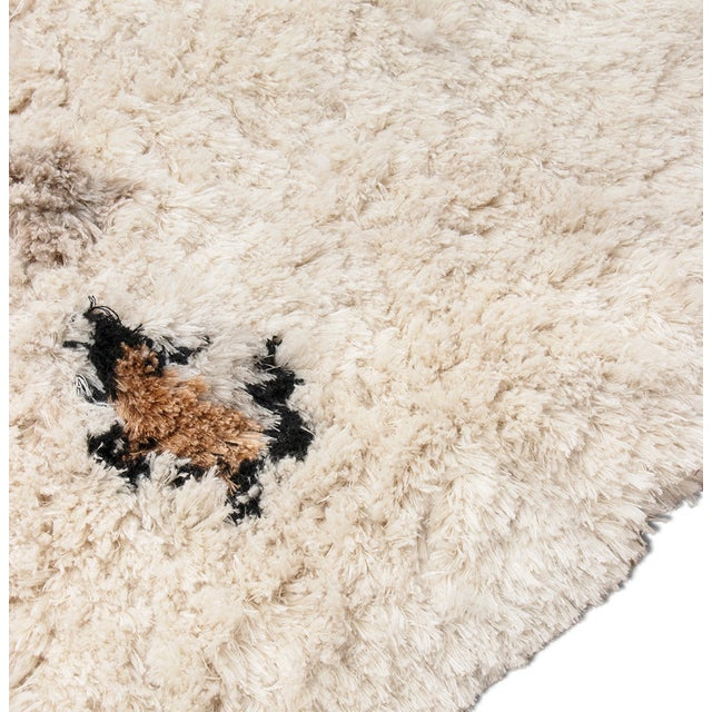 Modern Oslo Shaggy Rug From Covet Paris For Sale - Image 3 of 5