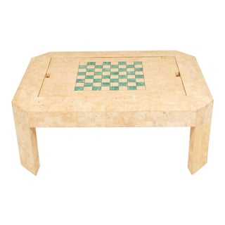 Tessellated Coffee and Game Table For Sale