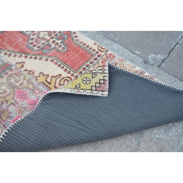Tribal Floor Patchwork Runner Rug - 2′11″ × 9′4″ For Sale In Austin - Image 6 of 6