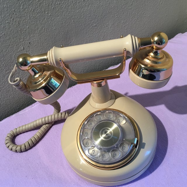 Vintage Ivory Bell Phone - Image 3 of 6