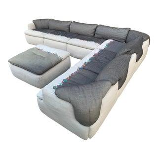 1970's Confidential Sectional Sofa by Alberto Roselli for Saporiti Italia Furniture For Sale
