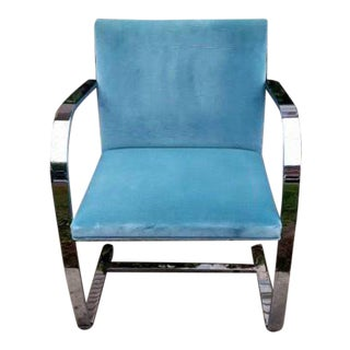 40 Knoll Flat Bar Brno Chairs by Ludwig Mies Van Der Rohe For Sale