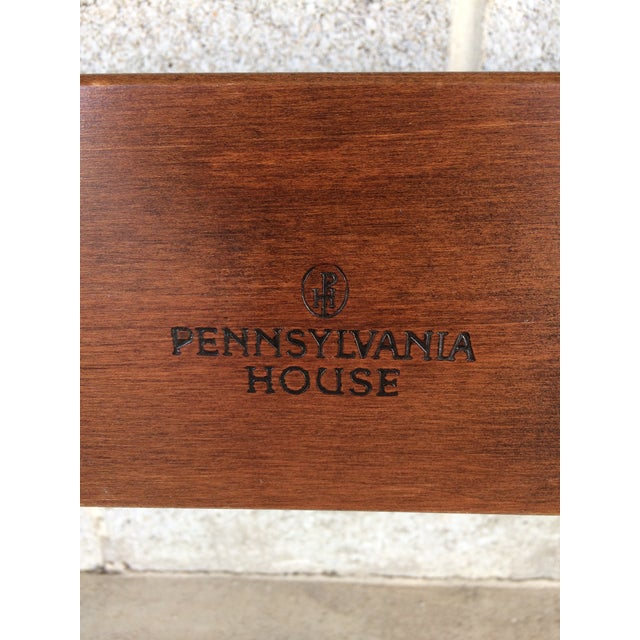 Pennsylvania House Chippendale Style Queen Poster Bed For Sale - Image 10 of 10
