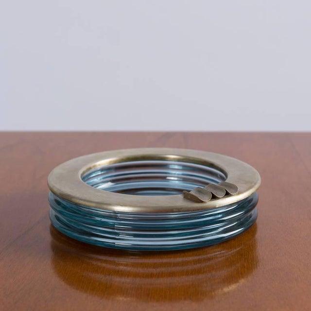 """Silver """"Onda"""" Glass Set by Sergio Asti for Arnolfo di Cambio For Sale - Image 8 of 10"""