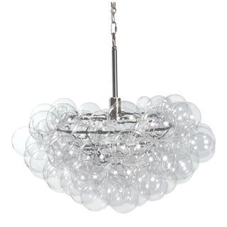 Bubbles Chandelier in Clear For Sale