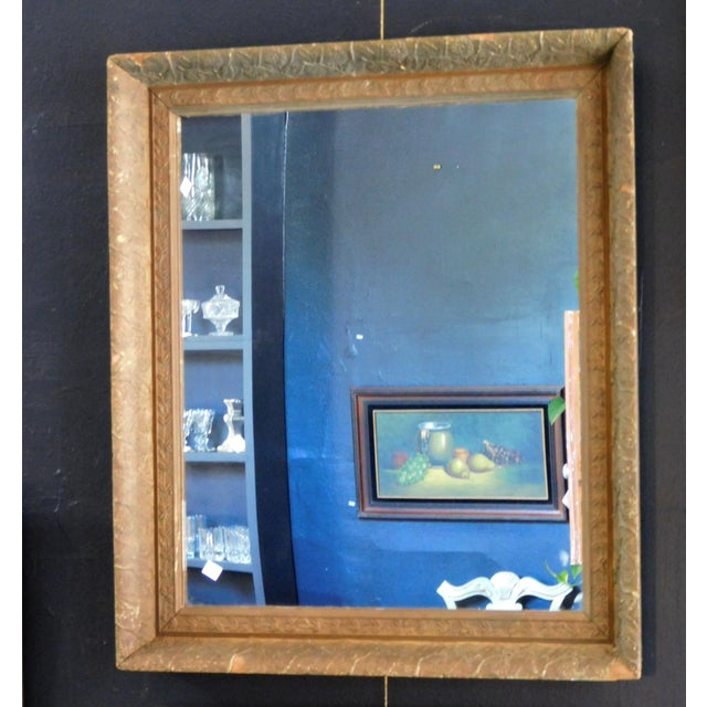Antique Chippy Wall Mirror For Sale - Image 4 of 7