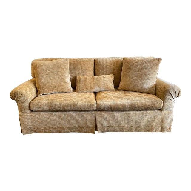 Belmar Studio Custom Roll-Arm Sofa For Sale
