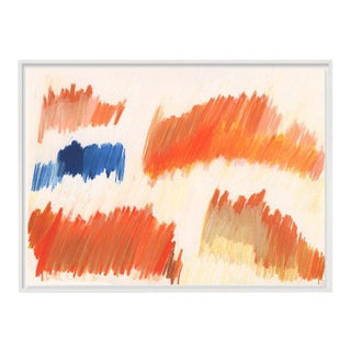 """""""Color Falls (Diptych #2)"""" Unframed Print For Sale"""