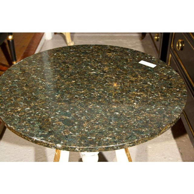 Art Deco Marble Top Side Tables - A Pair - Image 4 of 4