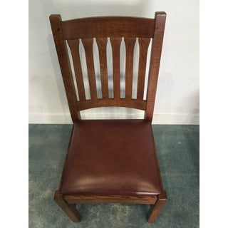 Stickley Cottage Oak Side Chairs- Set of 4 Preview