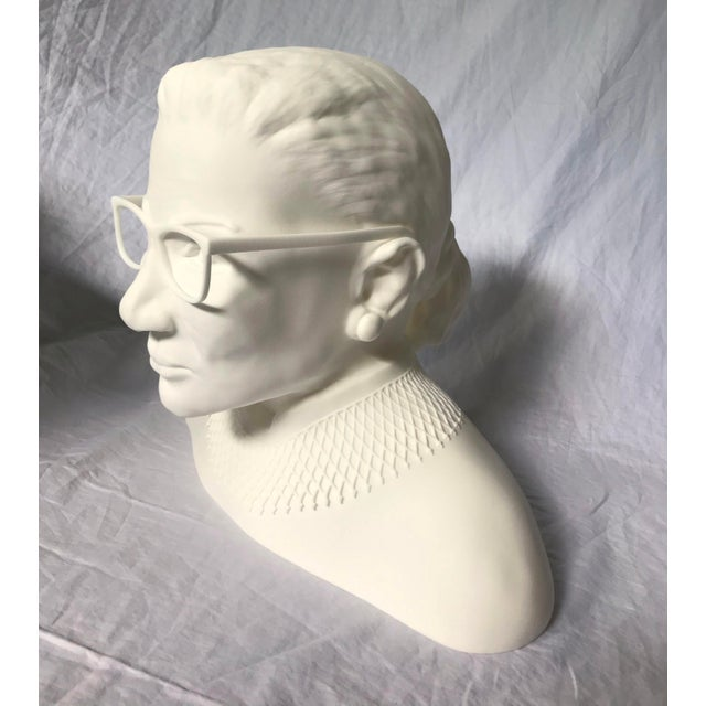 Ruth Bader Ginsberg Bust For Sale - Image 4 of 11