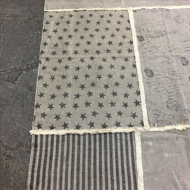 Grey Cotton Woven Rug - 6' X 8' - Image 6 of 8