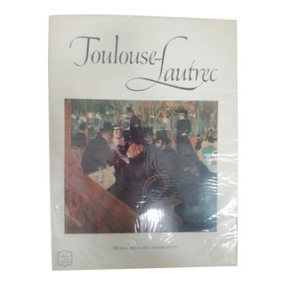 Toulouse-Lautrec Art Book With Prints, 1952 For Sale