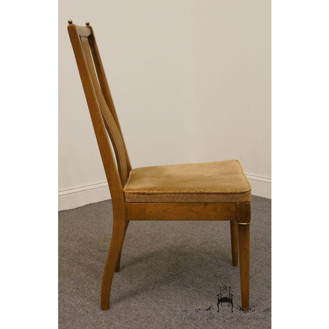 Late 20th Century Vintage American of Martinsville Asian Inspired Dining Chair For Sale In Kansas City - Image 6 of 8