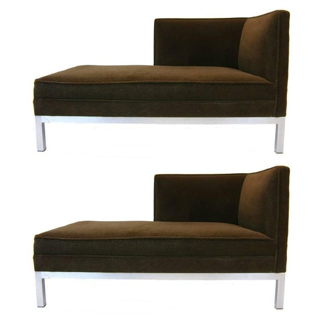 Boho Chic Pair of Chaise Lounges or Tête-à-Tête by Charter/ Brown Jordan For Sale - Image 3 of 9
