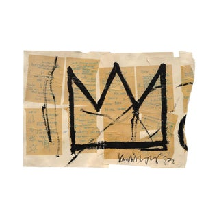Basquiat Crown Poster For Sale